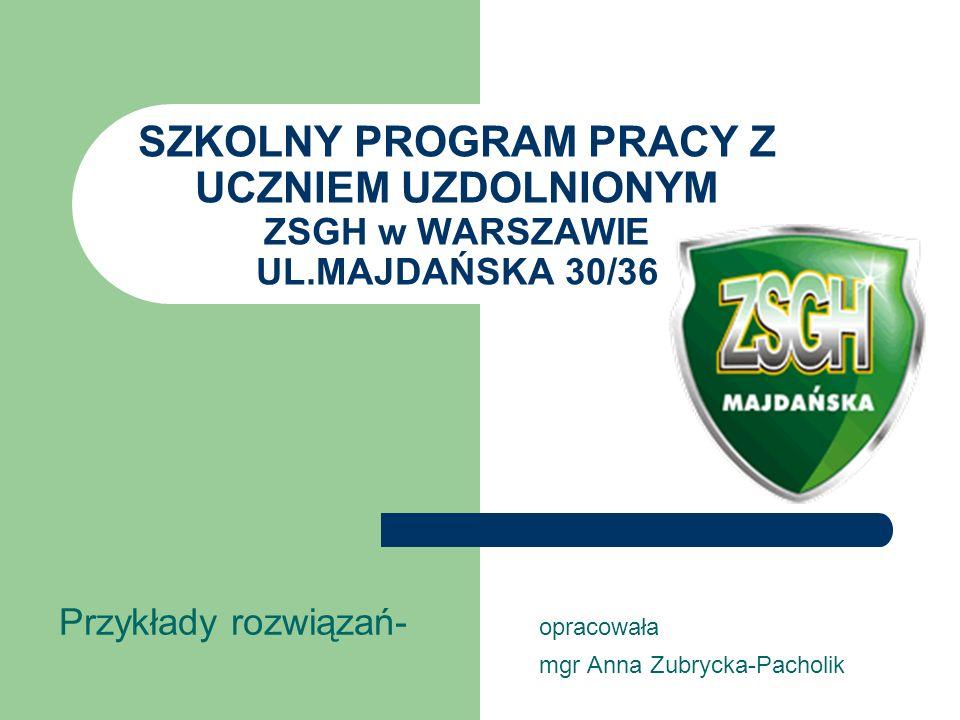Przykłady rozwiązań- opracowała mgr Anna Zubrycka-Pacholik