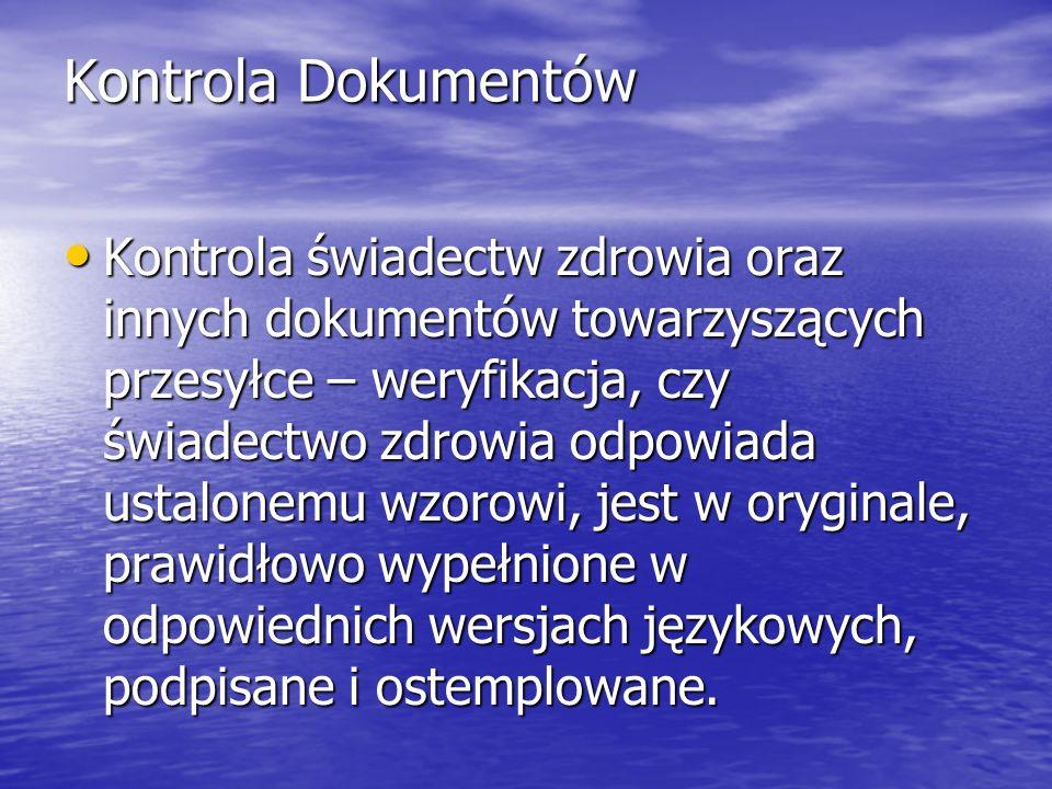 Kontrola Dokumentów