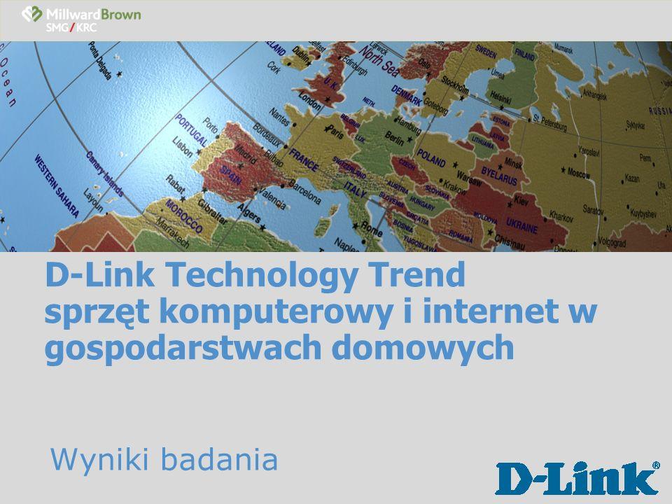 D-Link Technology Trend sprzęt komputerowy i internet w gospodarstwach domowych