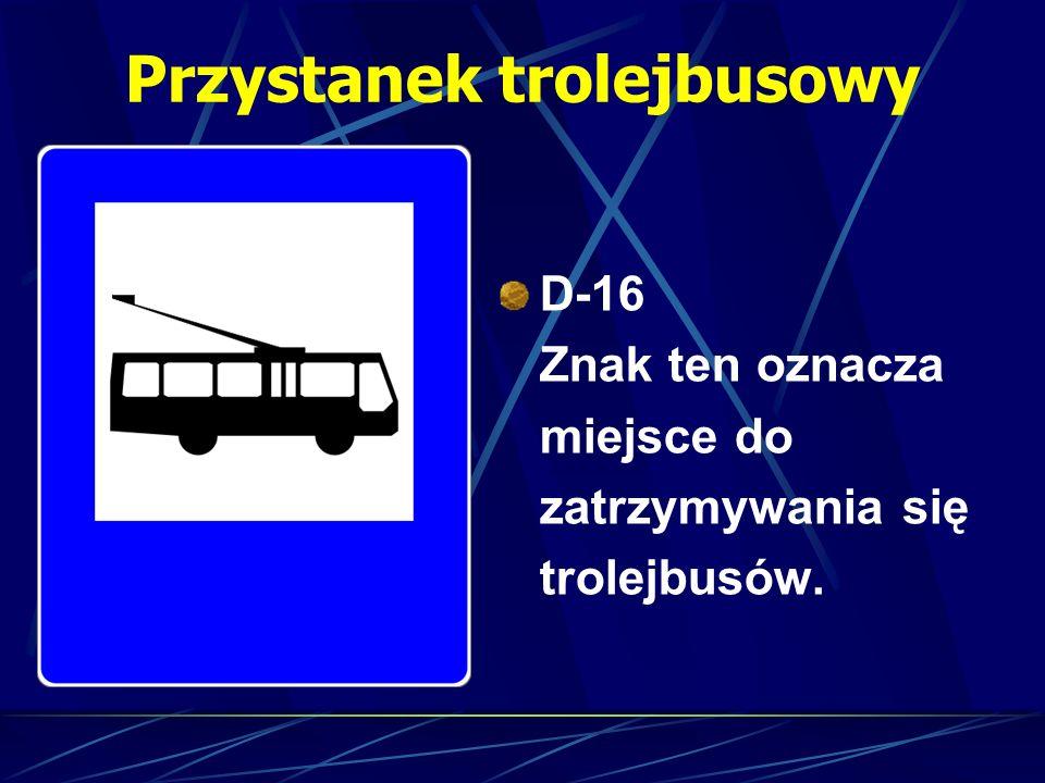 Przystanek trolejbusowy