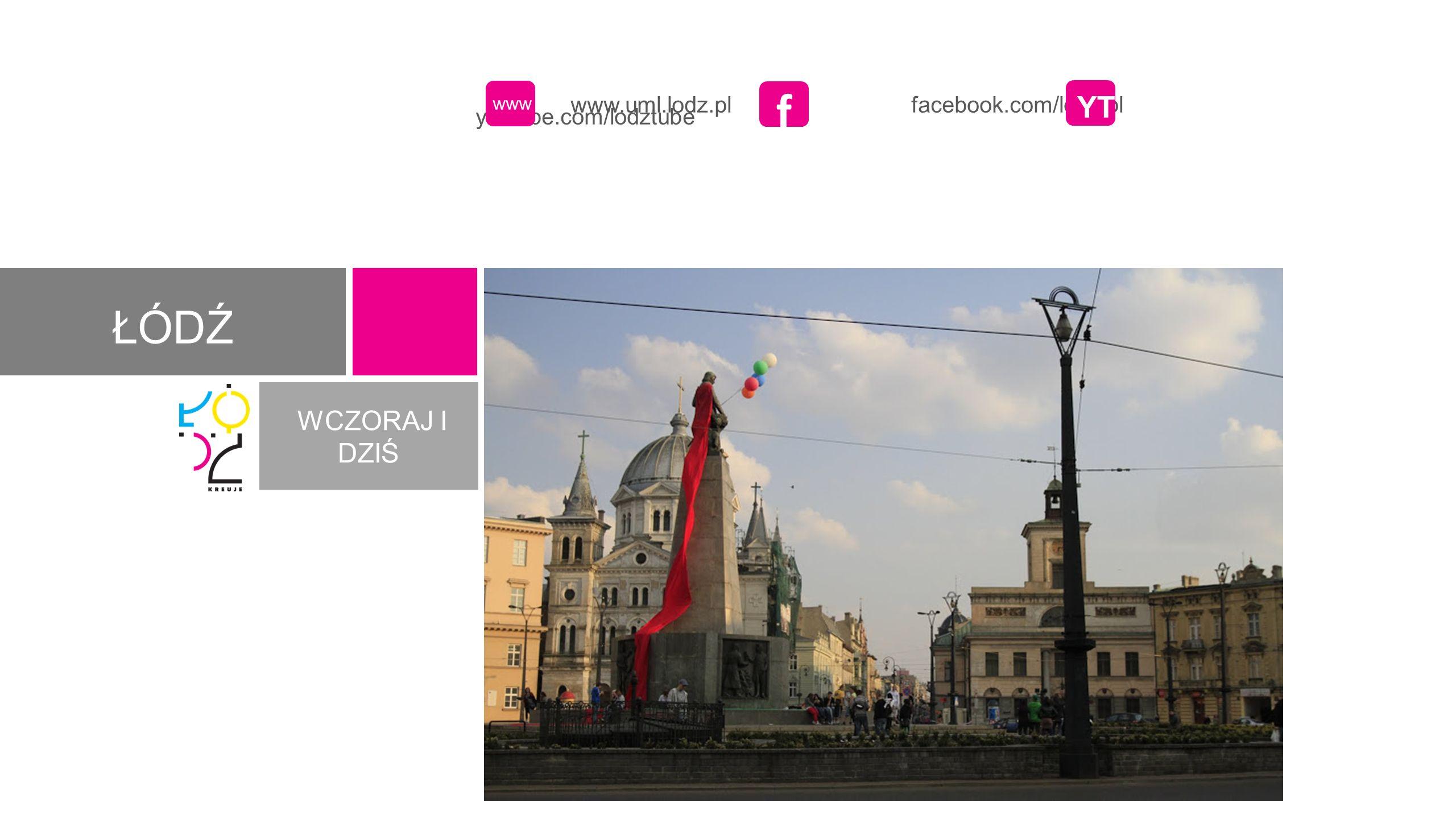 www.uml.lodz.pl facebook.com/lodz.pl youtube.com/lodztube