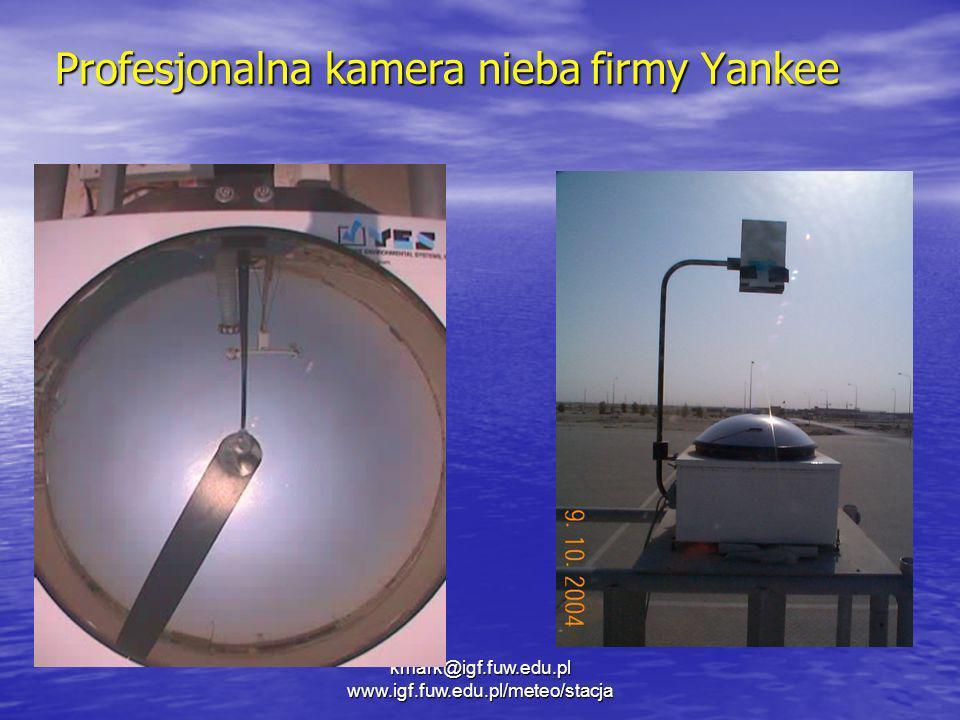 Profesjonalna kamera nieba firmy Yankee