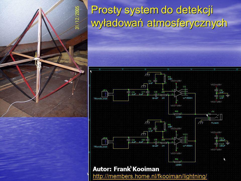 Prosty system do detekcji wyładowań atmosferycznych
