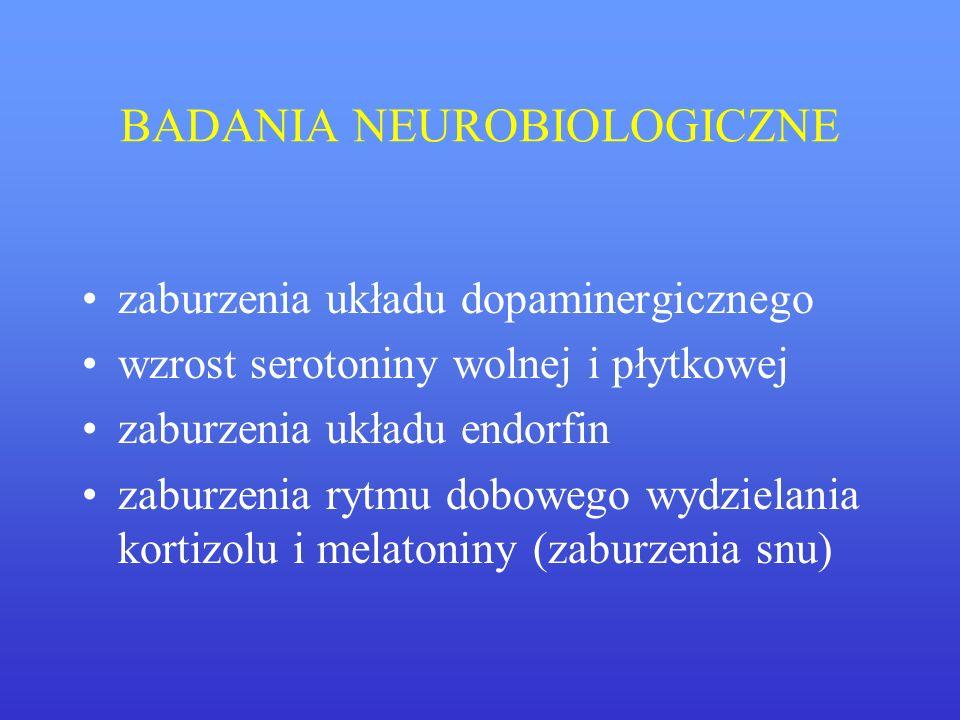BADANIA NEUROBIOLOGICZNE