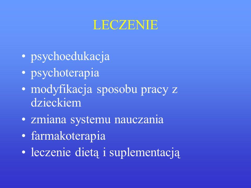 LECZENIE psychoedukacja psychoterapia