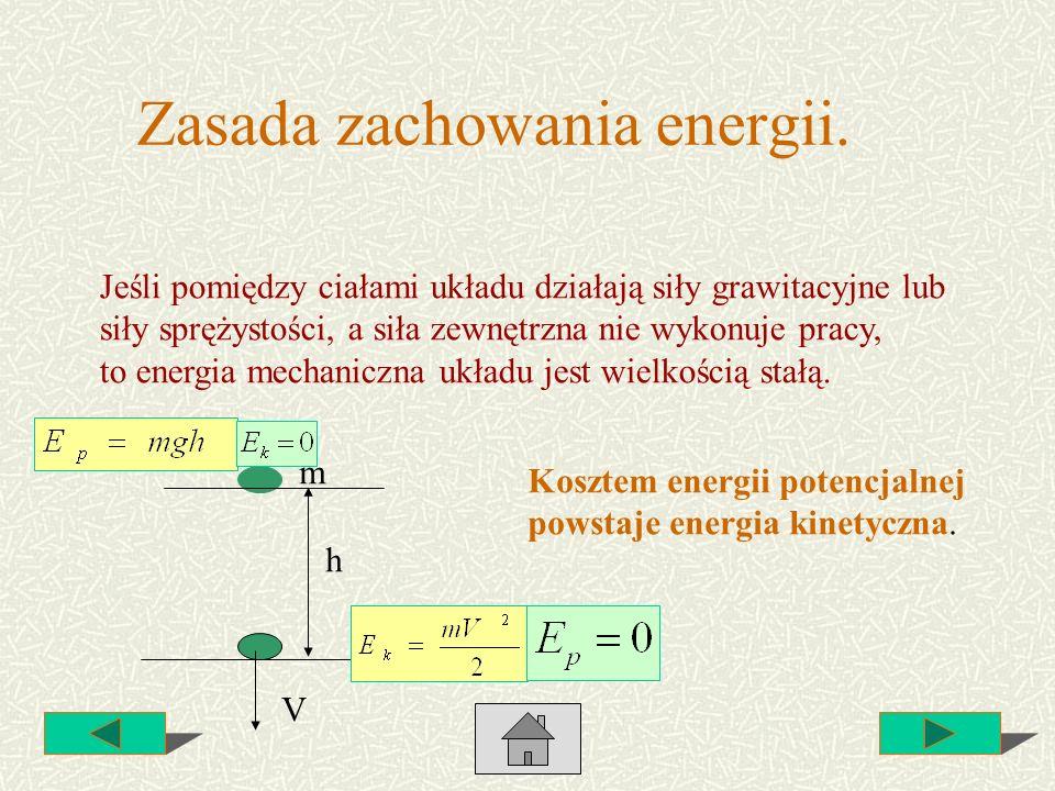 Zasada zachowania energii.