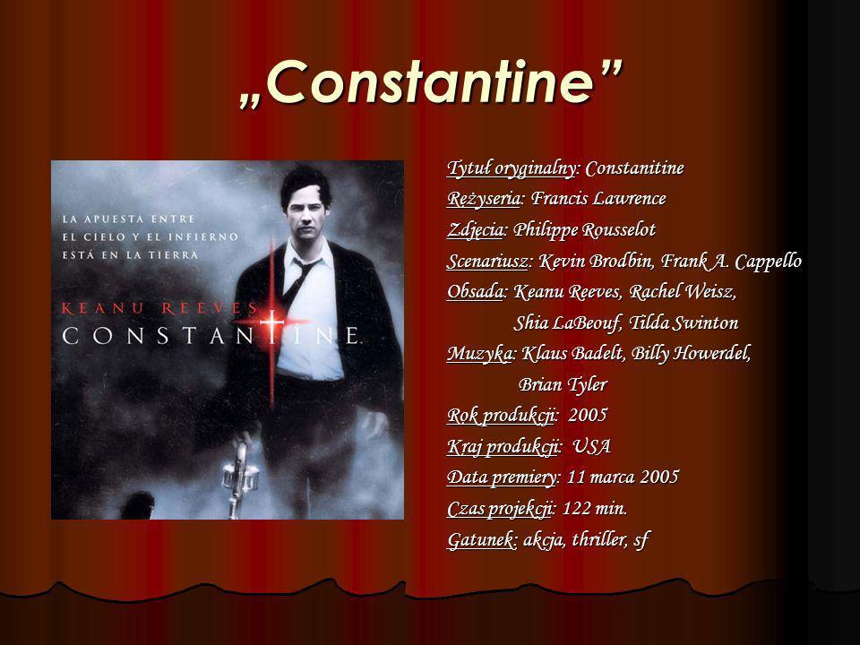 """Constantine Tytuł oryginalny: Constanitine"