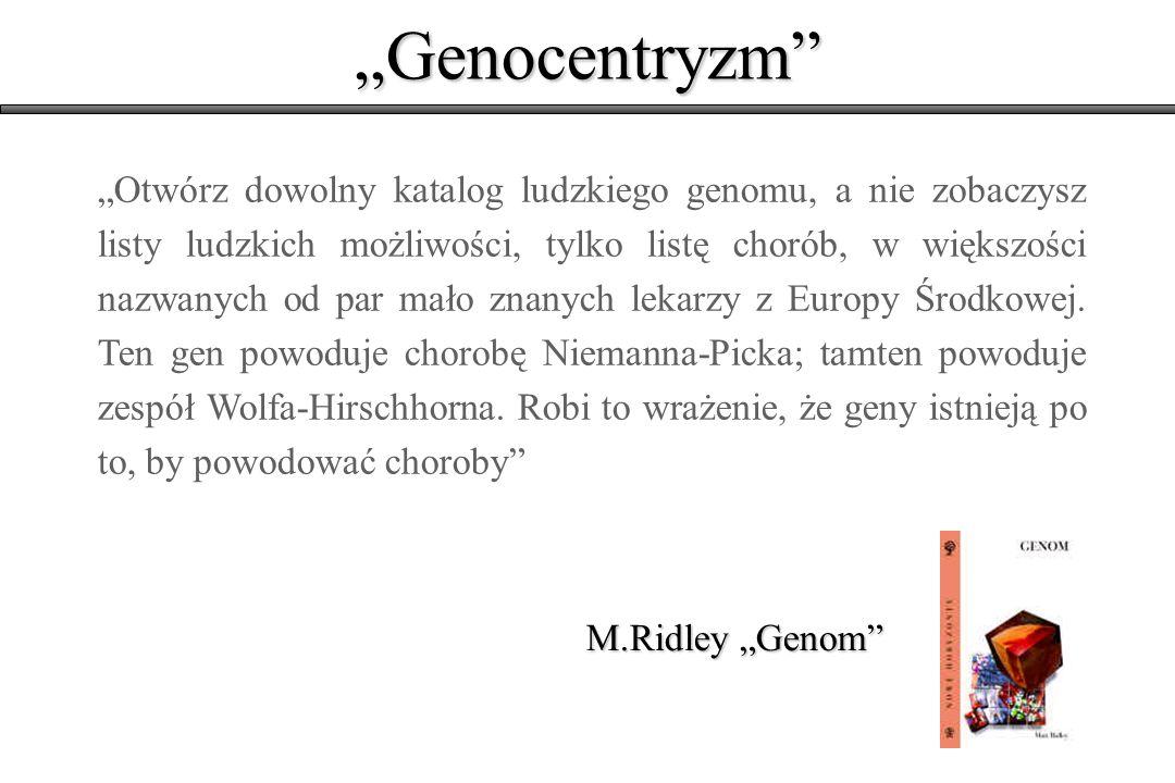 """""""Genocentryzm"""