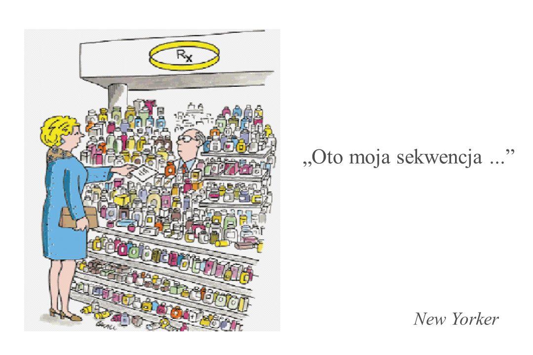 """Oto moja sekwencja ... New Yorker"