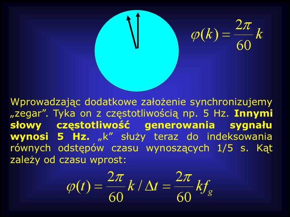 """Wprowadzając dodatkowe założenie synchronizujemy """"zegar"""
