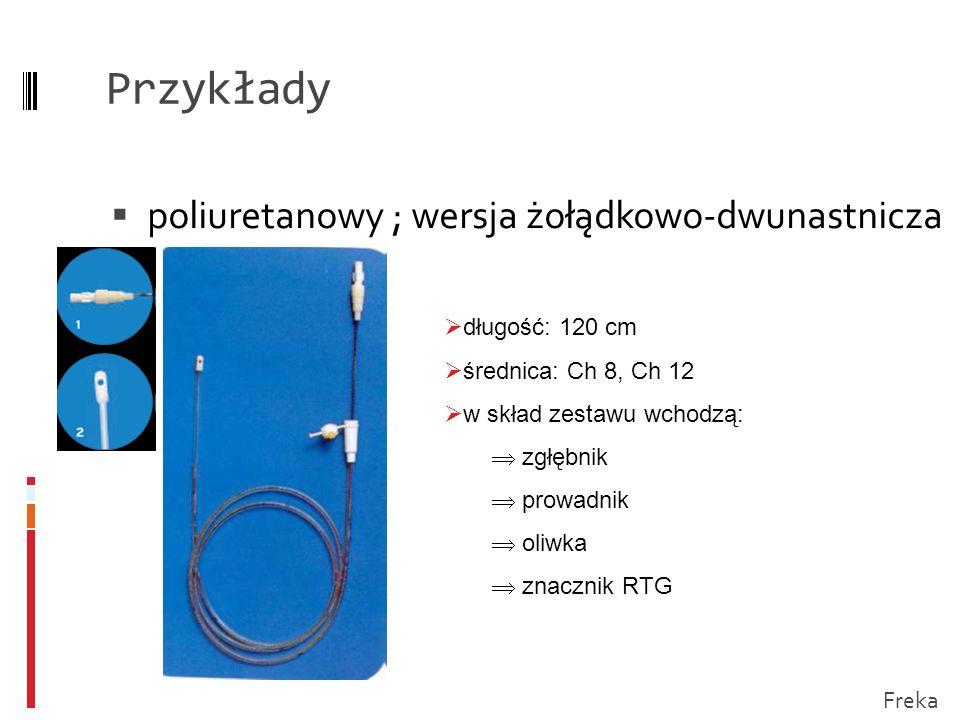 Przykłady poliuretanowy ; wersja żołądkowo-dwunastnicza