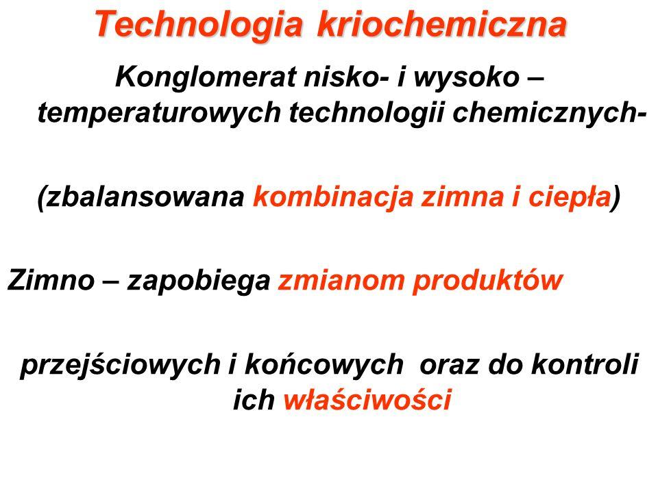 Technologia kriochemiczna