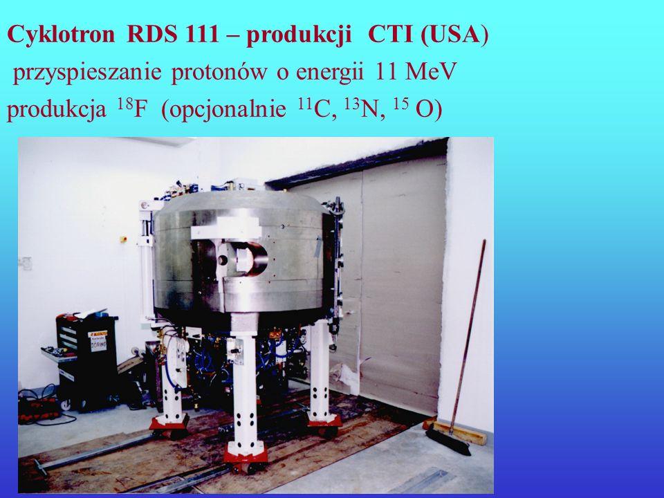 Cyklotron RDS 111 – produkcji CTI (USA)