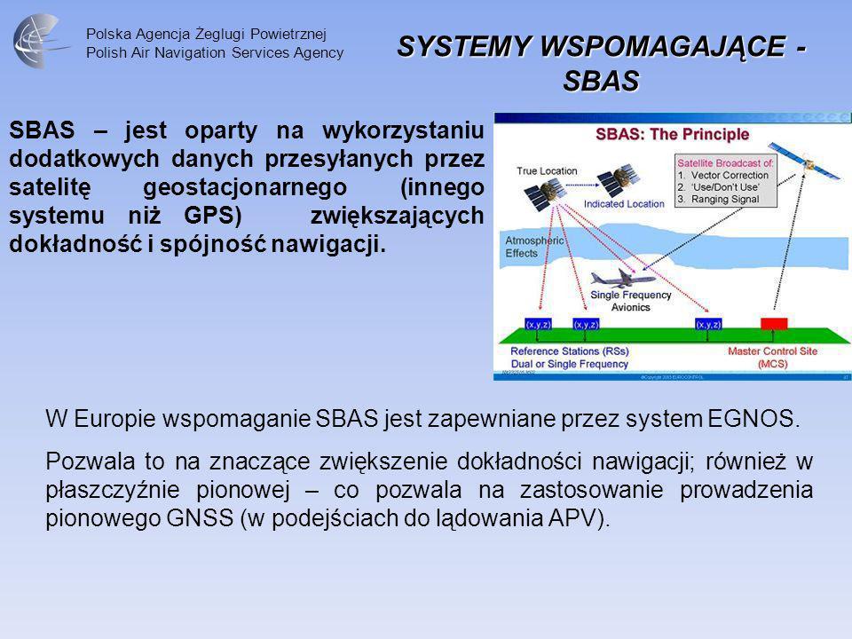 SYSTEMY WSPOMAGAJĄCE - SBAS