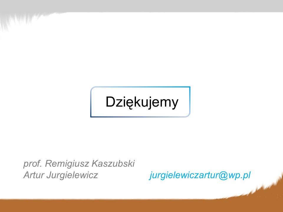 Dziękujemy prof. Remigiusz Kaszubski