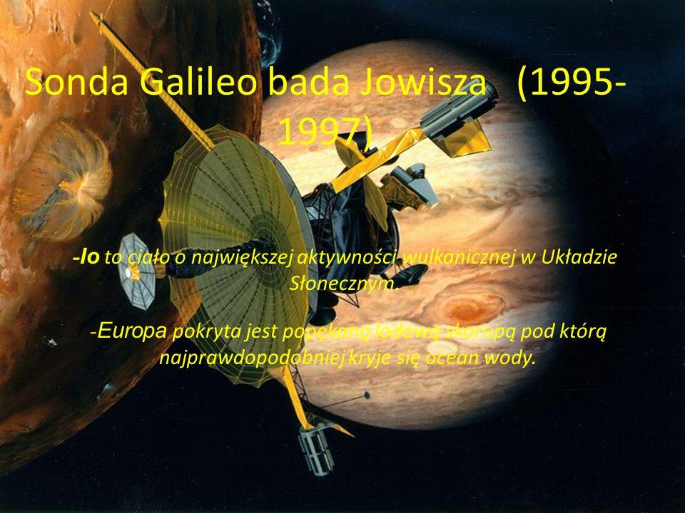 Sonda Galileo bada Jowisza (1995-1997)