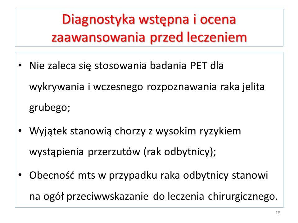Diagnostyka wstępna i ocena zaawansowania przed leczeniem