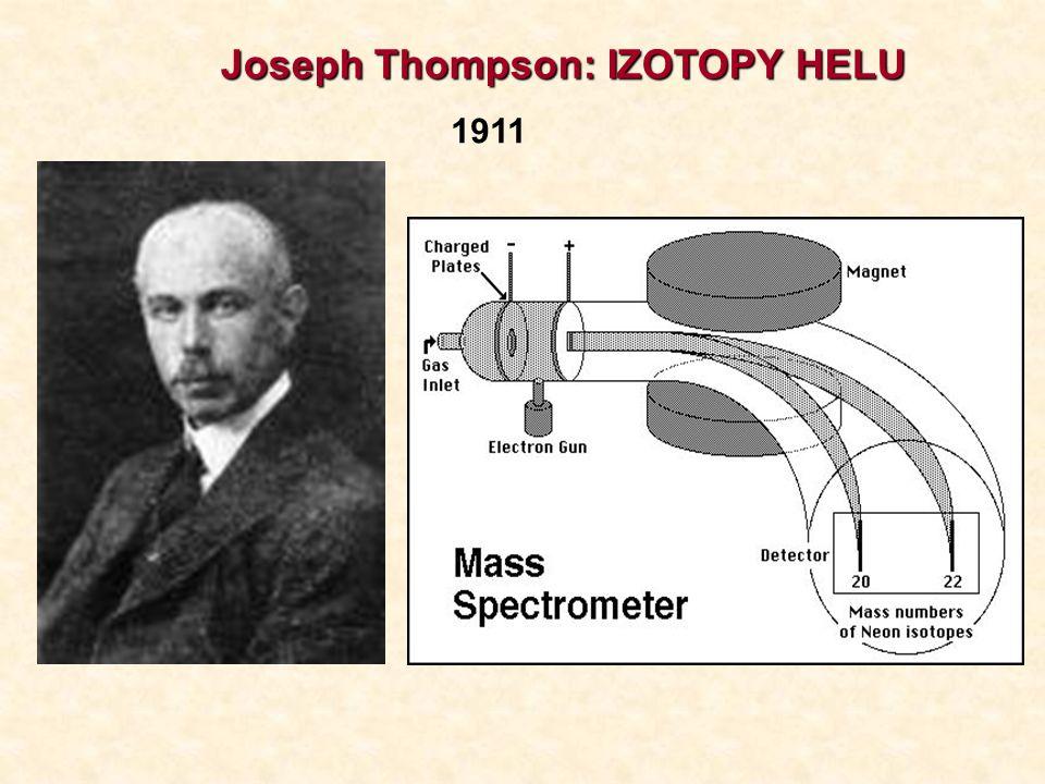 Joseph Thompson: IZOTOPY HELU