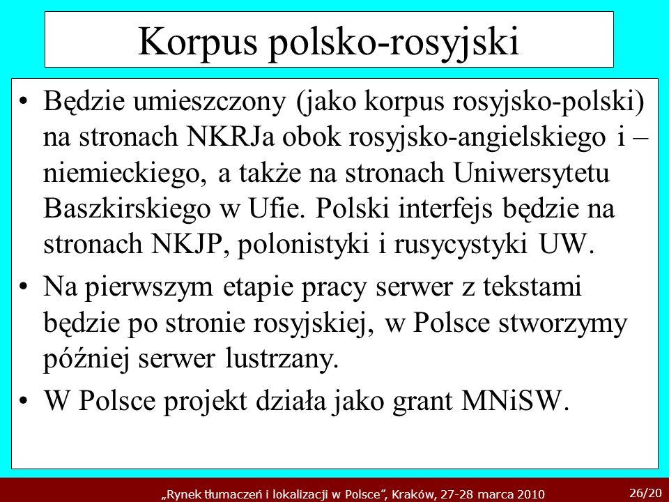 Korpus polsko-rosyjski