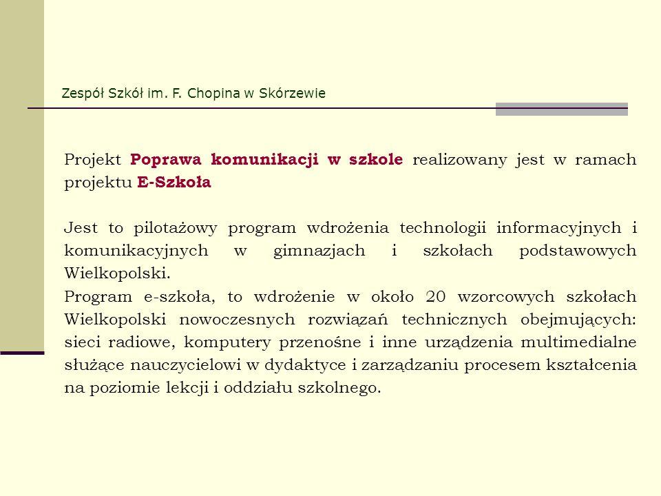 Zespół Szkół im. F. Chopina w Skórzewie