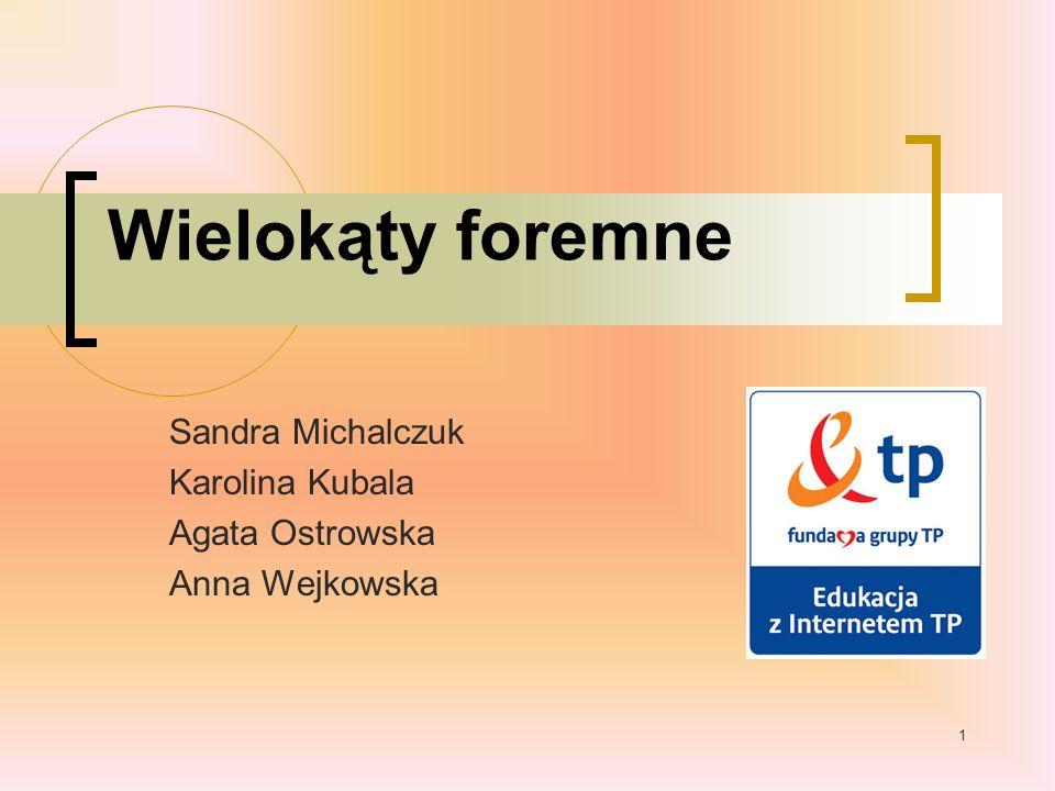 Sandra Michalczuk Karolina Kubala Agata Ostrowska Anna Wejkowska