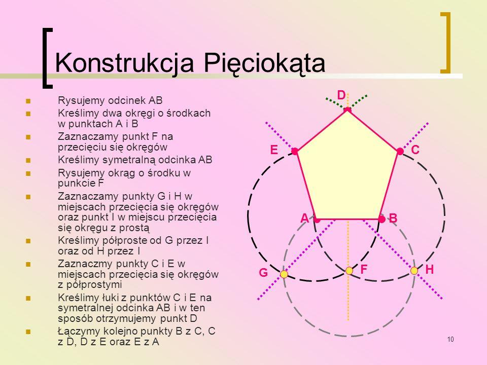 Konstrukcja Pięciokąta