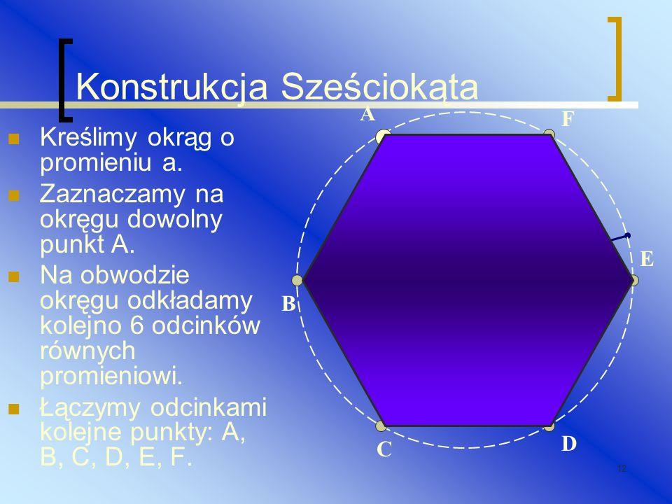 Konstrukcja Sześciokąta