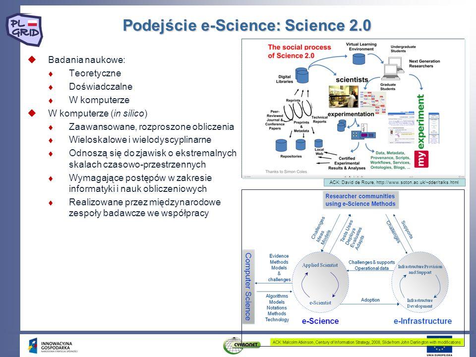 Podejście e-Science: Science 2.0