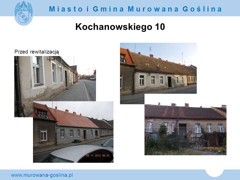 Kochanowskiego 10 Przed rewitalizacją