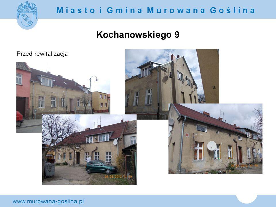 Kochanowskiego 9 Przed rewitalizacją