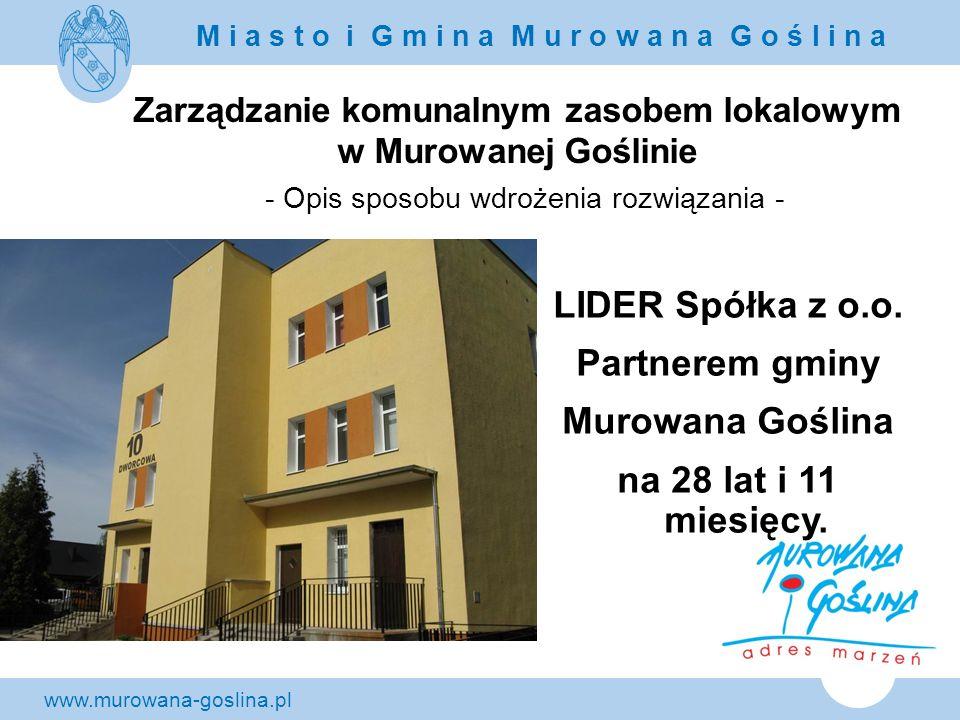 LIDER Spółka z o.o. Partnerem gminy Murowana Goślina