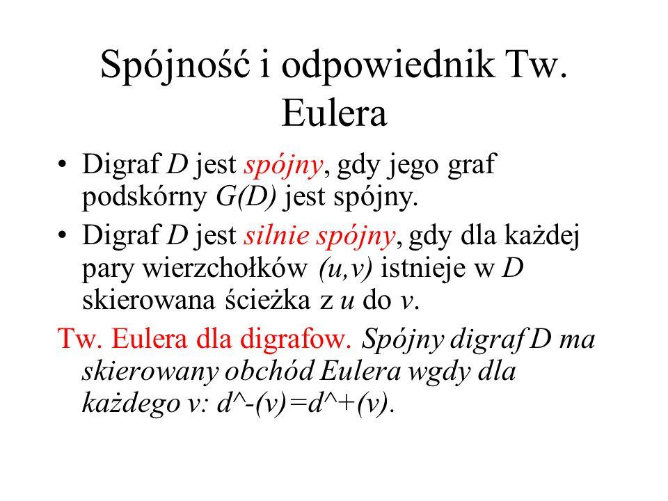 Spójność i odpowiednik Tw. Eulera