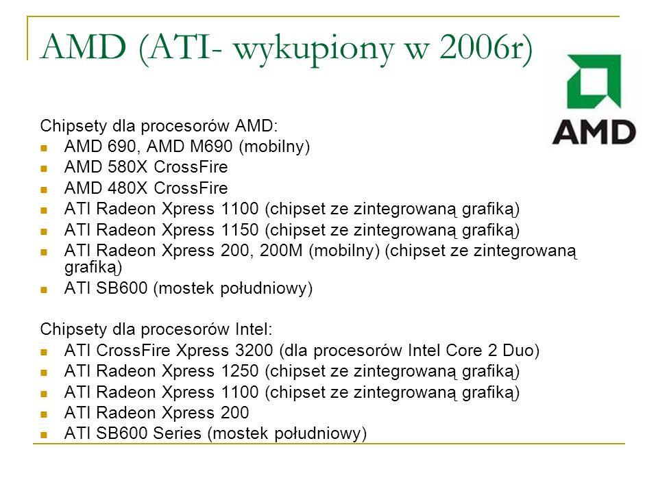 AMD (ATI- wykupiony w 2006r)