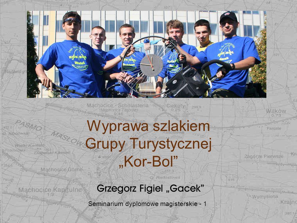 """Wyprawa szlakiem Grupy Turystycznej """"Kor-Bol"""