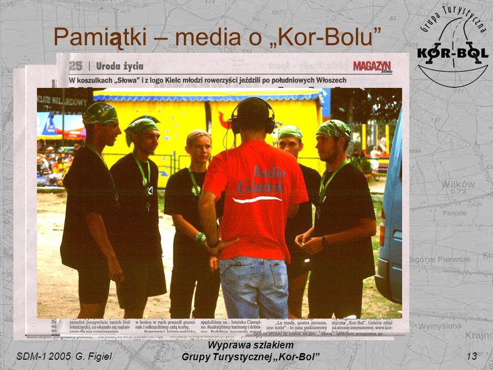"""Pamiątki – media o """"Kor-Bolu"""