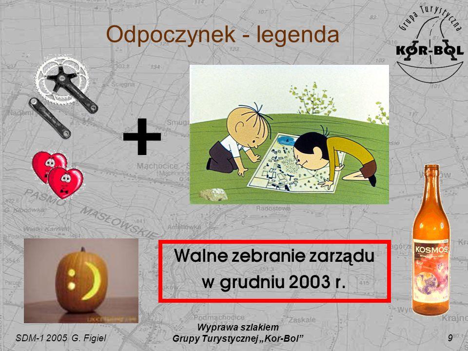 """Walne zebranie zarządu Grupy Turystycznej """"Kor-Bol"""