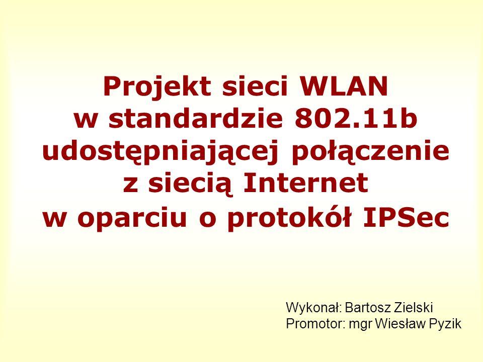 Projekt sieci WLAN w standardzie 802