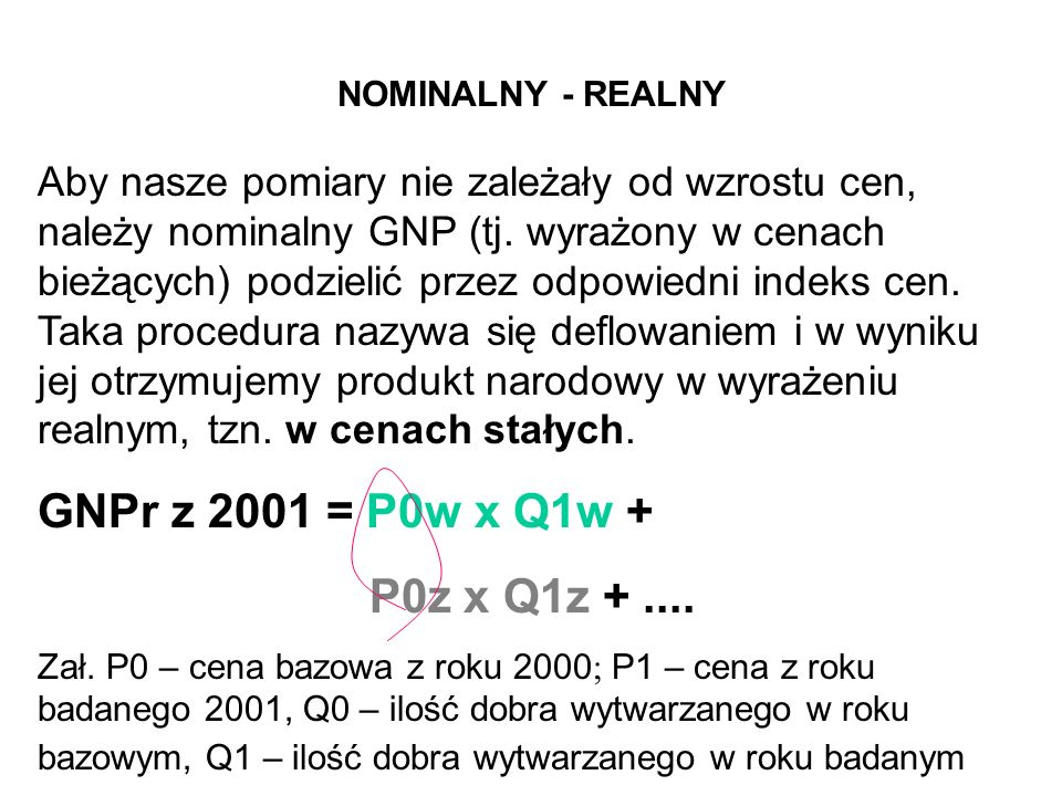 NOMINALNY - REALNY
