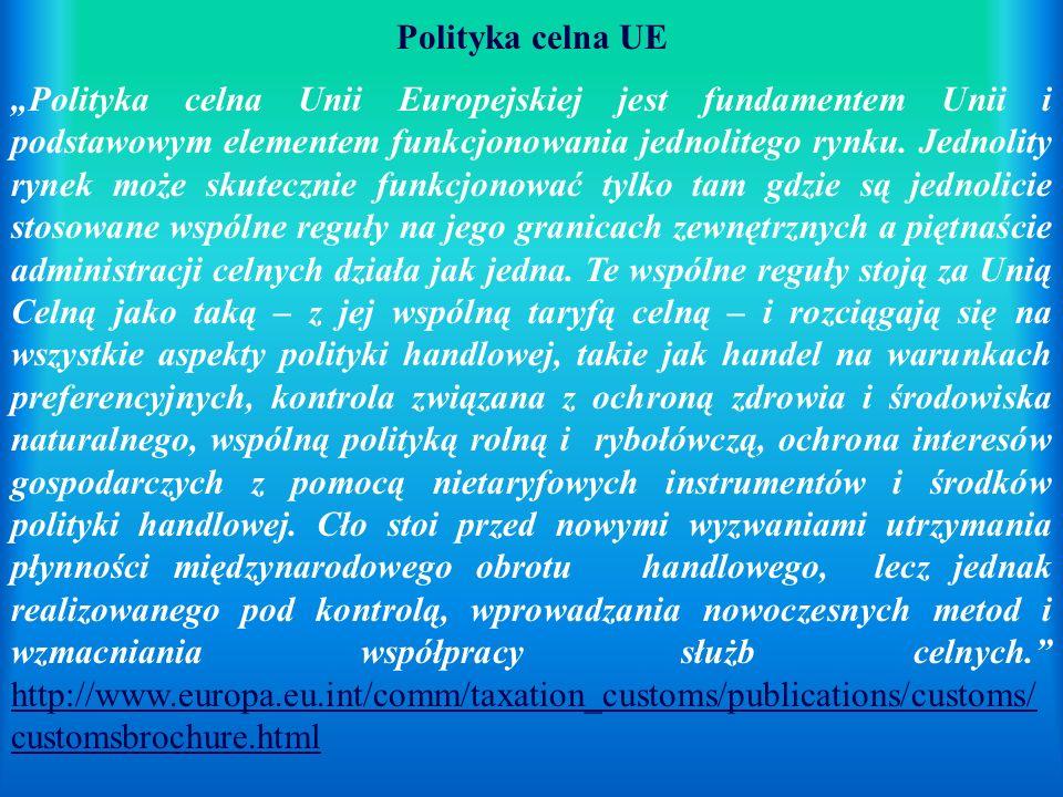 Polityka celna UE