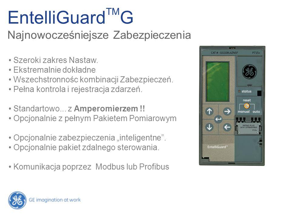 EntelliGuardTMG Najnowocześniejsze Zabezpieczenia
