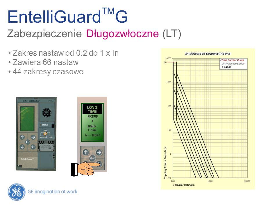 EntelliGuardTMG Zabezpieczenie Długozwłoczne (LT)