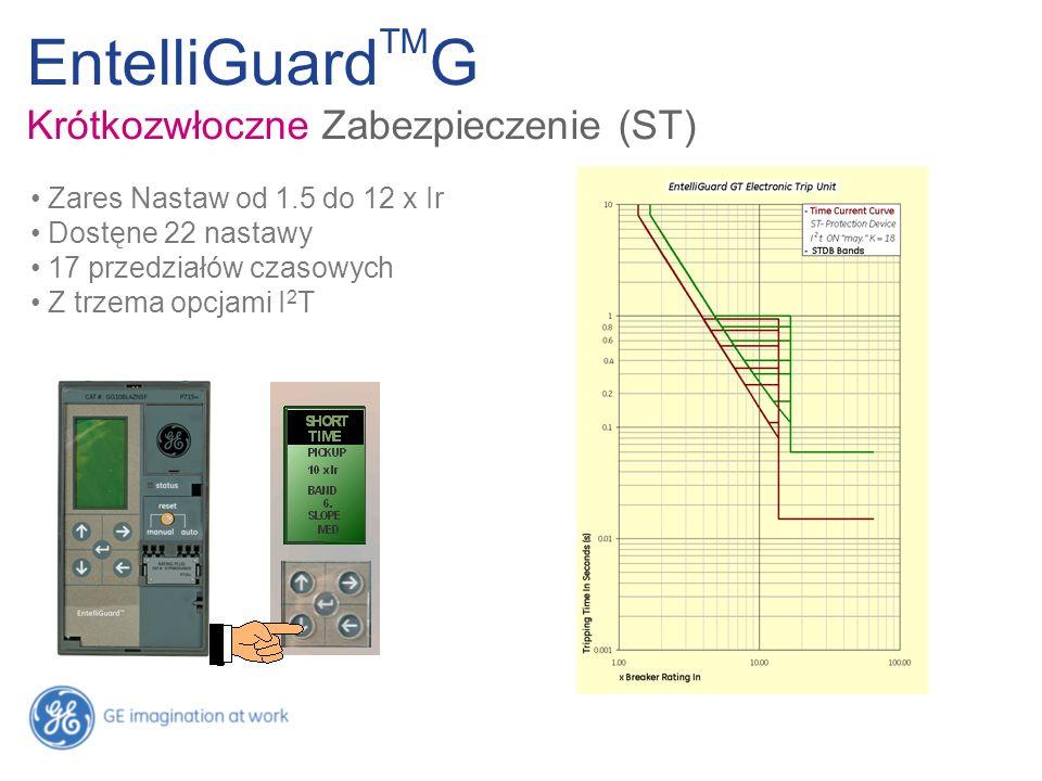 EntelliGuardTMG Krótkozwłoczne Zabezpieczenie (ST)