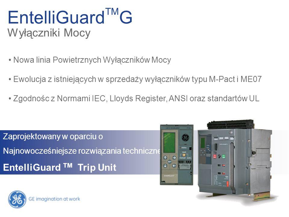 EntelliGuardTMG Wyłączniki Mocy EntelliGuard TM Trip Unit
