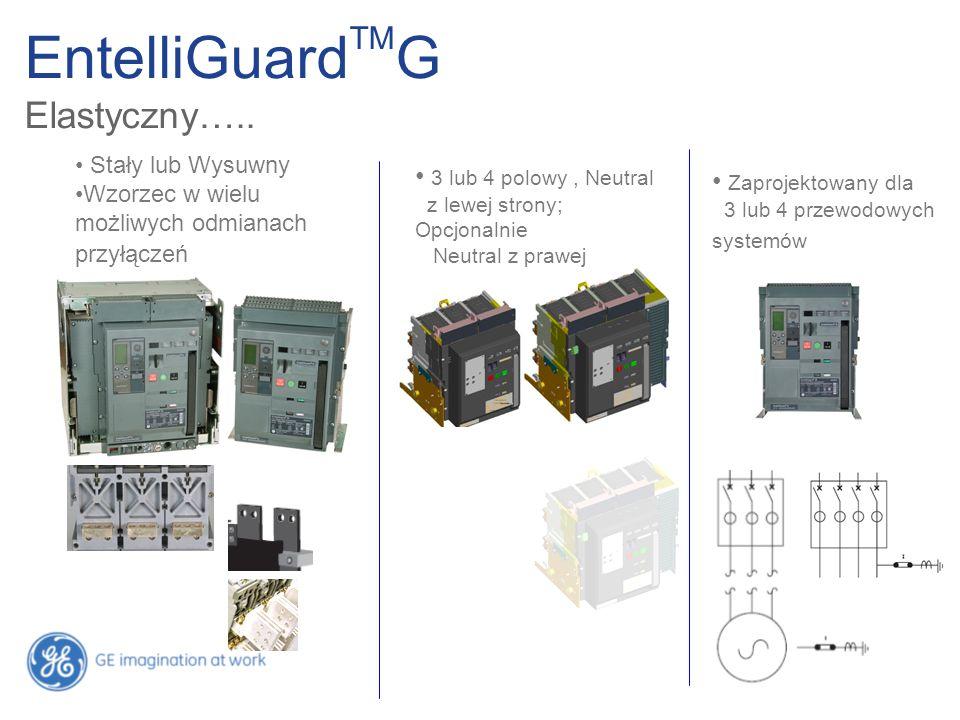 EntelliGuardTMG Elastyczny….. 3 lub 4 polowy , Neutral