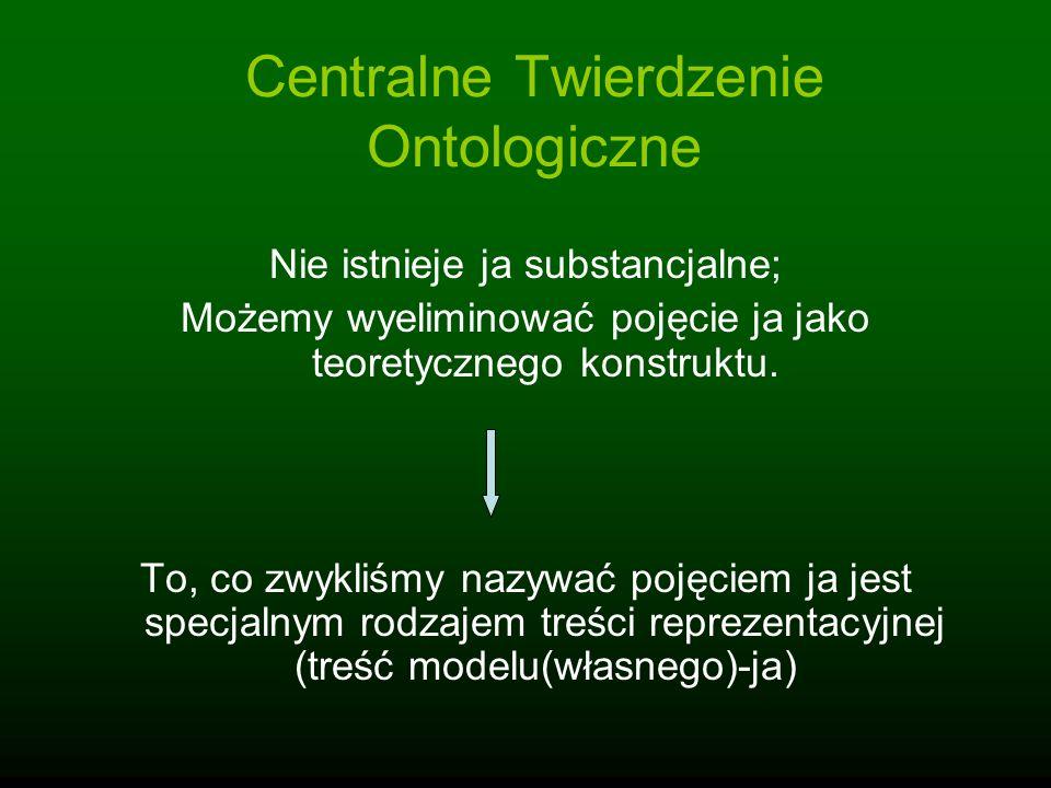 Centralne Twierdzenie Ontologiczne