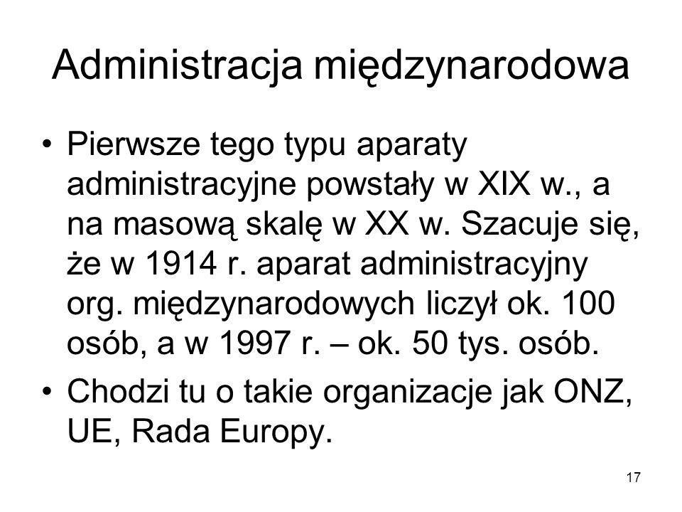 Administracja międzynarodowa
