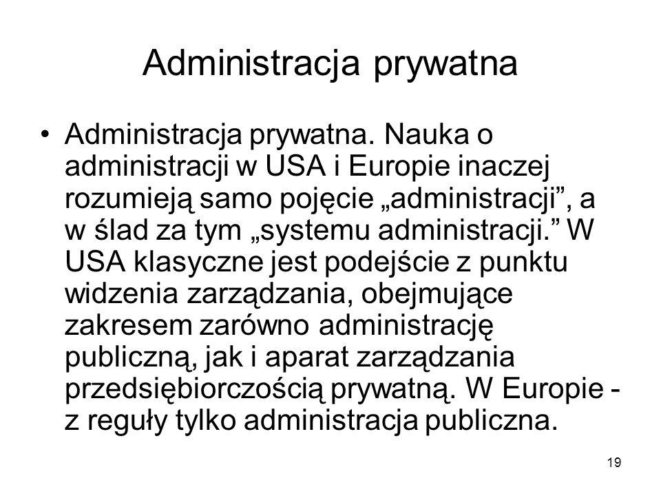 Administracja prywatna