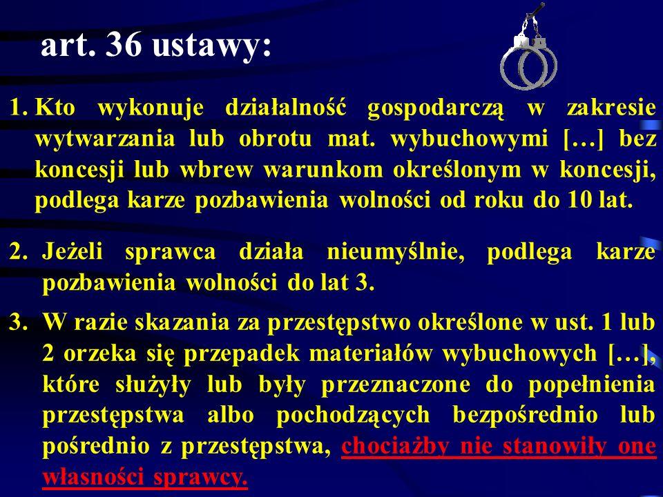art. 36 ustawy: