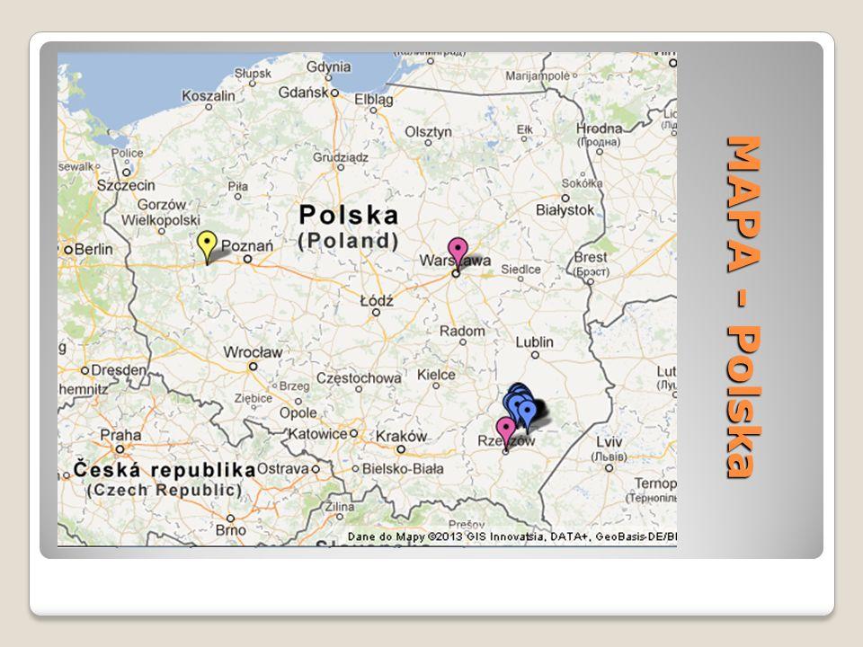 MAPA - Polska