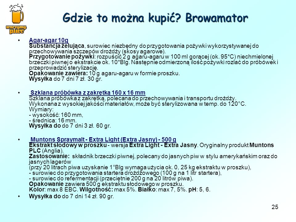 Gdzie to można kupić Browamator